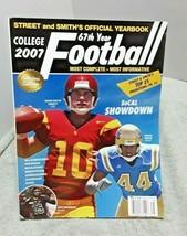 Street & Smith 2007 College Football Magazine John Booty Bruce Davis - $9.50