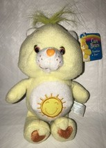 "2002 Care Bears Baby Funshine Bear 8"" Yellow Plush Toys NWT - $15.83"
