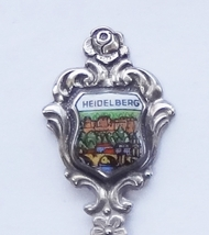 Collector Souvenir Spoon Germany Heidelberg Castle Neckar River Old Bridge - $14.99