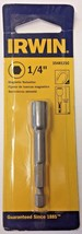 "Irwin 3548121C 1/4"" x 2-9/16"" Magnetic Lobular Design Nutsetter - $2.97"