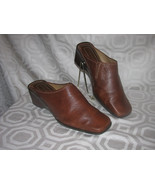 SHOES-EASYSPRIT- CLOGS-SIZE 7B- ESESTEBAN-TAN/B... - $10.00