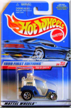 Hot Wheels - Tee'd Off: 1999 First Editions #9/26 - Collector #683 *Blue* - $8.49