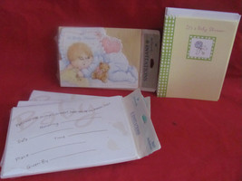 Baby Shower Invitation Cards 5  8 Count Packs Hallmark Party Teddy Bear Gift - $15.14