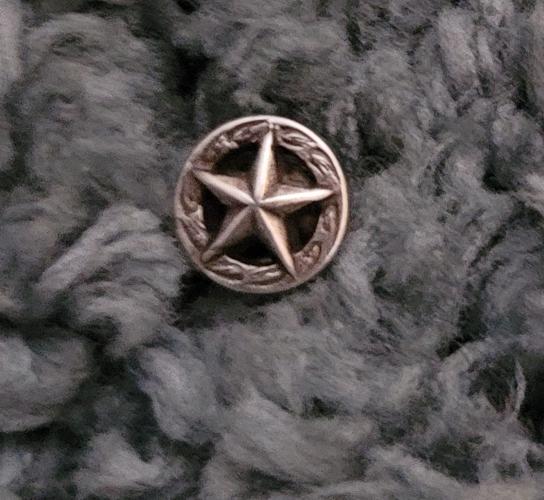 Silver star concho 1 2