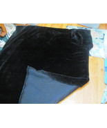 FAKE FUR-BLACK FABRIC-BEARS-DOGS-SEWING-CRAFTS-... - $7.00