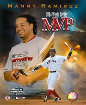 2004 Series MVP Manny Ramirez C Boston Red Sox Vintage 8X10 Baseball Photo - $5.99