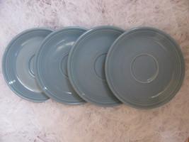 Four Fiesta Saucers                        #103 - $17.74