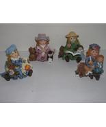 LITTLE GIRLS-GRANDMA & GRANDPA FIGURINES-TEDDY BEARS-BOOKS-SHEEP-TOYS-DO... - $3.99