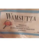 SHEETS TWIN J C PENNY SPRINGMAID WAMSUTTA 100% ... - $12.99