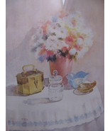 MILDRED BARTEE PRINT- BEAUTIFUL PICTURE  FAKE M... - $10.00