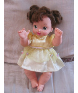 DOLL VTG 2004 DISNEY PLAYMATES-JOINTED-GREEN PAINTED EYES-BROWN HAIR-ORI... - $15.00
