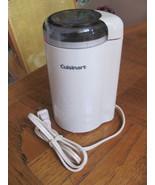CUISINART COFFEE/SPICE GRINDER-DCG20-IVORY-FOLG... - $12.86