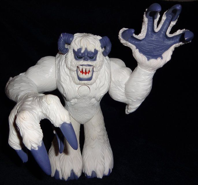 Matchbox Mega Rig Arctic Adventure 7 Inch Yeti Snow Monster Only