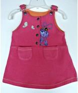 Girls Bug's Life Princess Atta Jumper Dress 6 Skirt Disney Pixar Bugs An... - $9.89