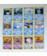 LOT POKEMON Trading CARDS Nintendo Buizel Dragonite Gastly Feebas Meowth... - $9.89