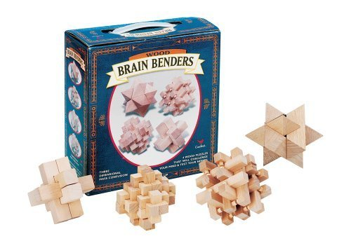 Brain Benders Wooden Puzzles [Toy] - $24.74