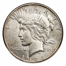 1928-S Silver Peace Dollar (Uncirculated, UNC Condition) Nice Luster - $266.16