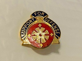 US Military 158th Support Group Insignia Pin - Support for Defense - $10.00