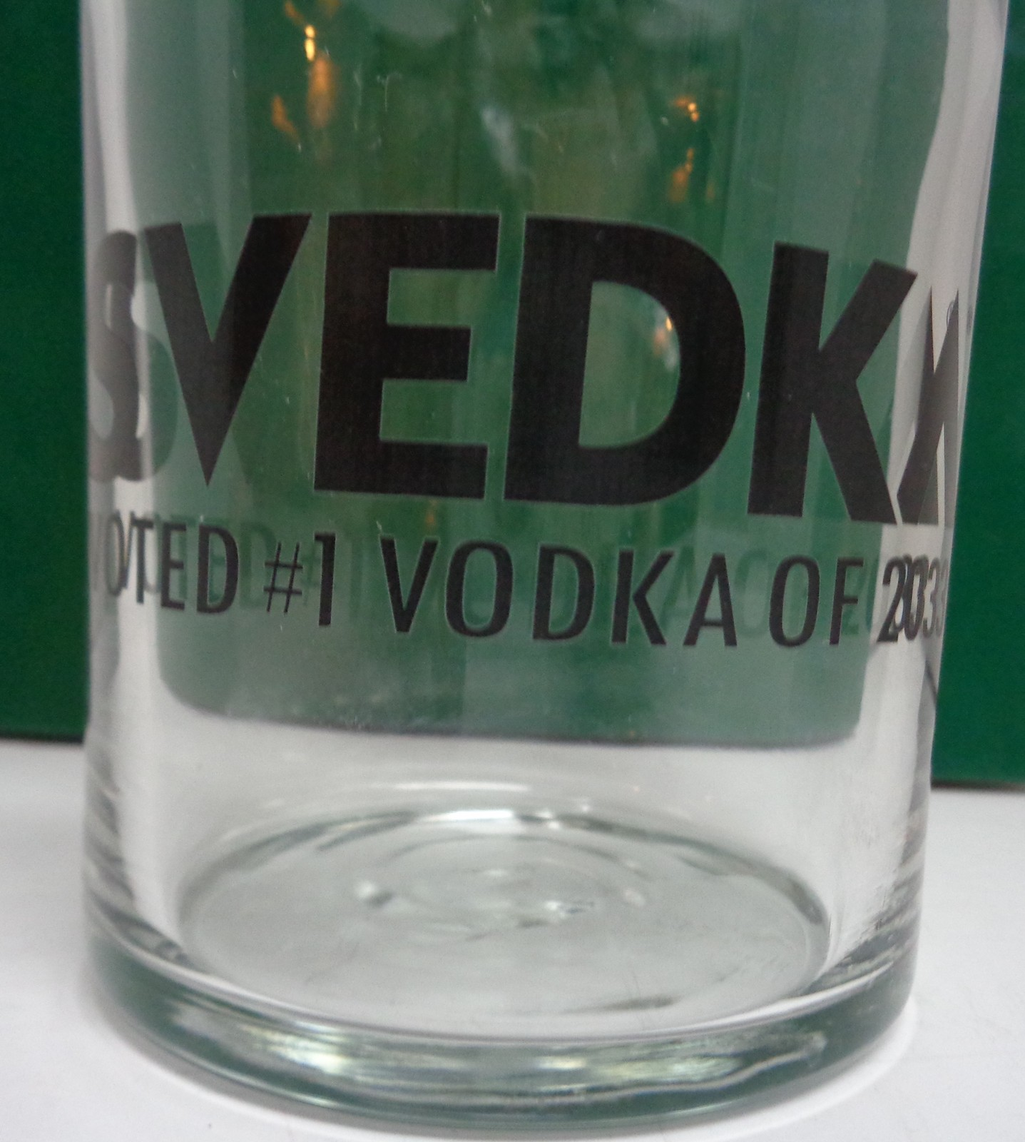 Svedka Vodka Decanter Voted #1 Vodka of 2033