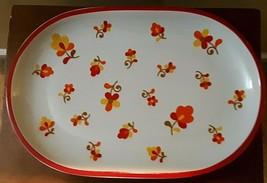 "BLOCK Vista Alegre PAPRIKA Hearthstone Oblong Platter 14 1/2 x 9 1/2"" Ex... - $18.05"