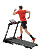 Foldable 2.25 HP Cardio Workout Treadmill Electric Indoor Fitness W/Larg... - $523.71