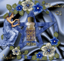No163 Jupiter planetary oil. Luck, prosperity. Protection from earthly dangers - $19.99