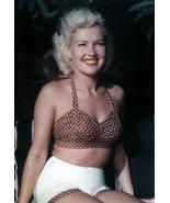 Betty Grable 15C Vintage 8X10 Color Movie Memorabilia Photo - $4.99
