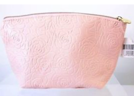 Ulta Pink Leatherette Bag with Embossed Roses. NWT - $6.99