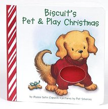 Biscuit's Pet & Play Christmas: A Touch & Feel Book [Board book] [Sep 26... - $3.99