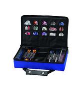 Casemaster CLASSIC BLUE Dart Case  HOLDS 4 SETS DARTS flights shafts tip... - $32.93