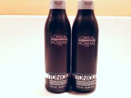 L'Oreal Professionnel  Homme Tonique Shampoo Polyphenols Antioxydants 250ml x2* - $25.94