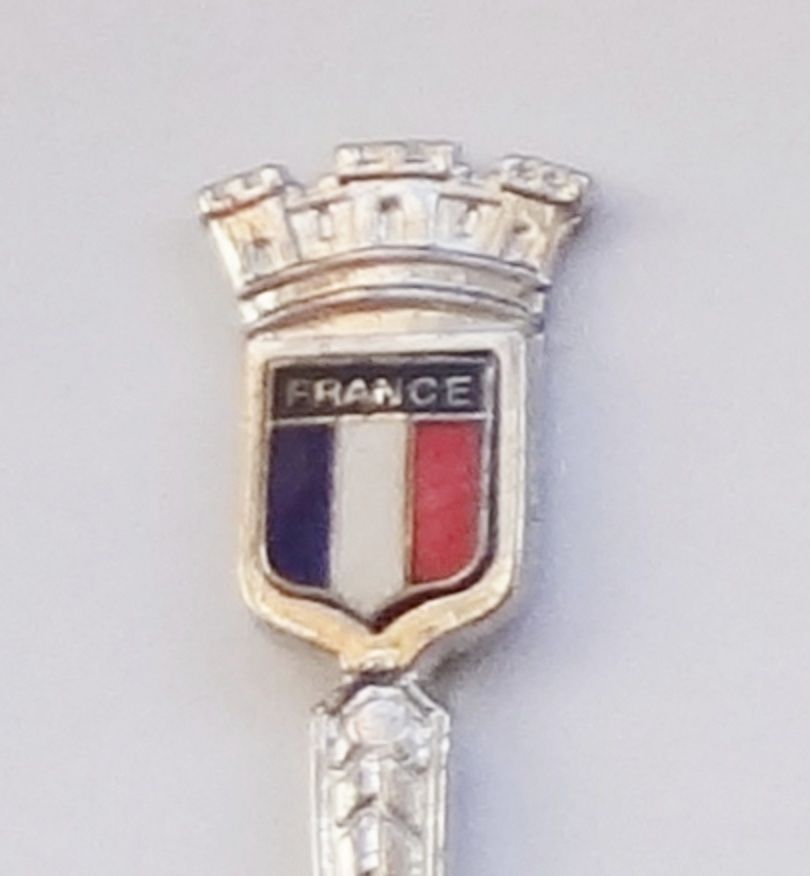 Primary image for Collector Souvenir Spoon France Flag