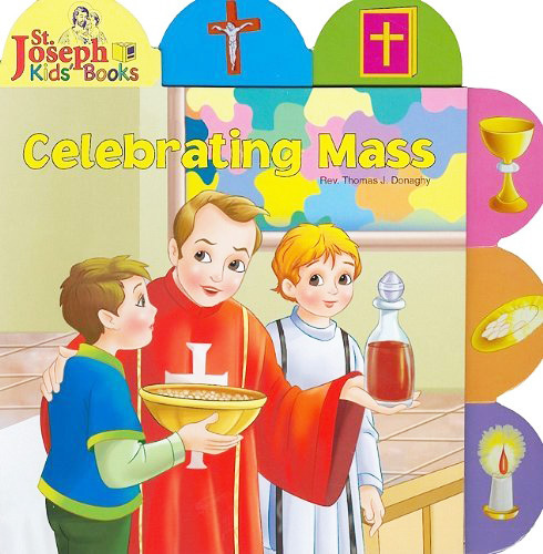 Celebrating mass   children book