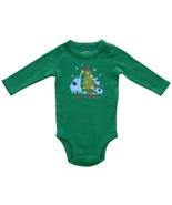 Carter's 3 Mos. Baby Girls Christmas Green One-Piece Bodysuit  - $3.99