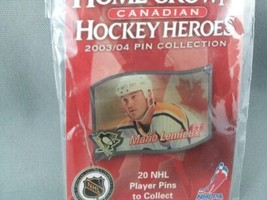 Home Grown Heros Hockey Pin - Mario Lemieux (Pittsburgh Penguins) - Rare !! image 4