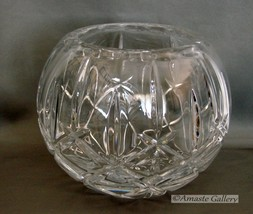 A Stunning Bohemia Crystal Rose Bowl - $85.00