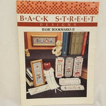 Back Street Bookmarks II Designs Cross Stitch Leaflet Book 1987 Country ... - $9.99