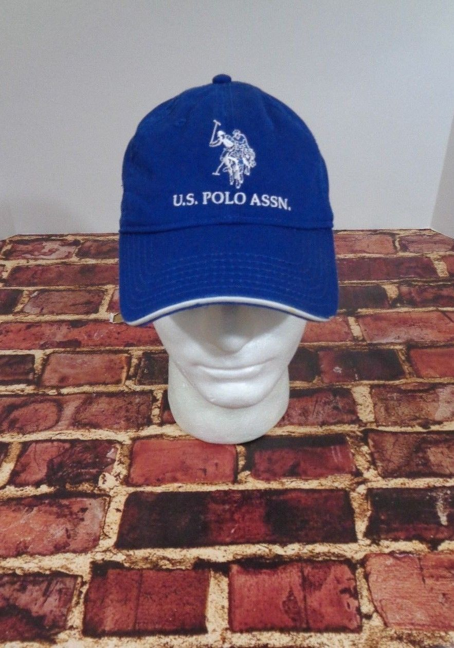 8a4c2b569b4d6 S l1600. S l1600. US Polo Assn Association Marine Blue Baseball Cap Hat ...