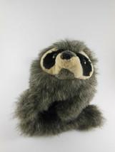 "Folkmanis Baby Raccoon Plush Hand Puppet 9"" + 5"" tail  - $9.89"