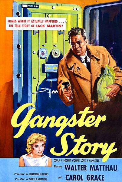 Primary image for Gangster Story - 1959 - Movie Poster