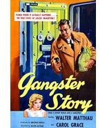 Gangster Story - 1959 - Movie Poster - $9.99+