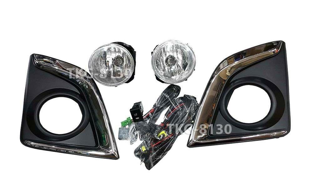 SPOT FOG LIGHT LAMP KIT FOR ISUZU DMAX D-MAX HILANDER PICKUP 2016 2017