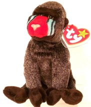 TY BEANIE BABIES 1999 COLLECTIBLE – Cheeks the Baboon – RETIRED - MWMT - $10.40