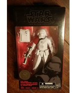 Star Wars The Black Series 6-Inch FIRST ORDER SNOWTROOPER  (2015) Free Shipping - $33.42
