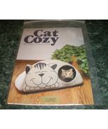 Cat Cozy Cotton Covered Kitty Cat Bed House Pattern - $18.99