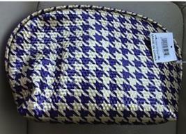 Ulta Purple & Gold Harringbone Print  Cosmetic Bag NEW - $6.99