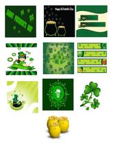 10-St Patricks Day A1-Digital Clipart - $6.00
