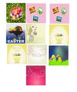 10-Happy Easter A2-Digital Clipart - $5.00