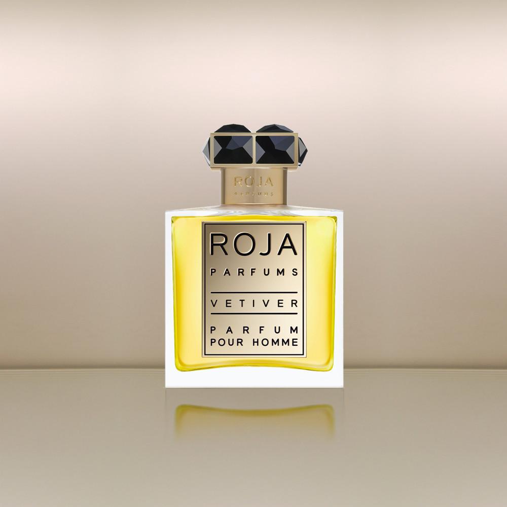VETIVER POUR HOMME by ROJA 5ml Travel Spray GAIAC NEROLI CARAWAY Pure Perfume