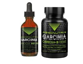 Absonutrix Garcinia 2 Oz 98% HCA and Pills 75% HCA helps suppress appeti... - $31.99